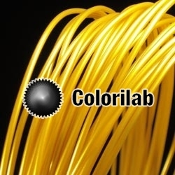 Filament d'imprimante 3D PLA 3.00 mm doré or 10123C