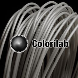 PLA 3D printer filament 1.75 mm grey Cool Gray 9C