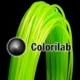 PLA 3D printer filament 1.75 mm lime 368C