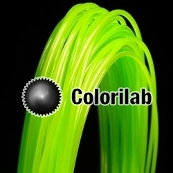 ABS 3D printer filament 1.75 mm lime 368C