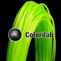 ABS 3D printer filament 3.00 mm lime 368C