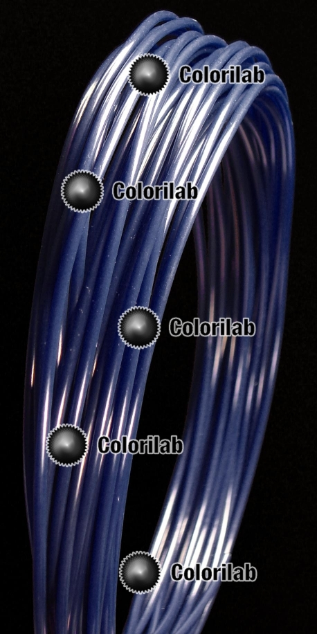 Filament d'imprimante 3D PLA 1.75 mm bleu marin 2757C