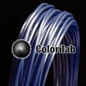 Filament d'imprimante 3D ABS 3.00 mm bleu marin 2757C