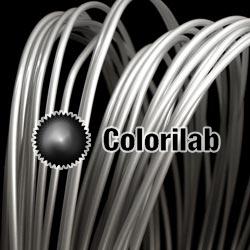 Filament d'imprimante 3D PLA 1.75 mm argent translucide 9C