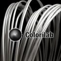 PLA 3D printer filament 1.75 mm translucent silver 9C