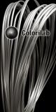 Filament d'imprimante 3D PLA 3.00 mm argent translucide 9C