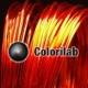 PLA 3D printer filament 1.75 mm translucent red 2028C