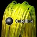 Filament d'imprimante 3D PLA 3.00 mm jaune translucide 394C