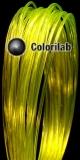 PLA 3D printer filament 3.00 mm translucent yellow 394C