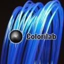 Filament d'imprimante 3D PLA 1.75 mm bleu translucide 2945 C