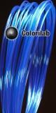 Filament d'imprimante 3D PLA 3.00 mm bleu translucide 2945 C