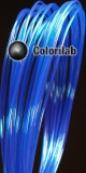 PLA 3D printer filament 3.00 mm translucent blue 2945C