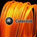 PLA 3D printer filament 1.75 mm translucent orange 2018C