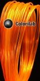 Filament d'imprimante 3D PLA 1.75 mm orange translucide 2018 C