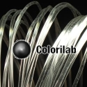 Filament d'imprimante 3D PLA 3.00 mm clair cristal transparent