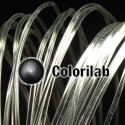 PLA 3D printer filament 3.00 mm crystal clear glass transparent