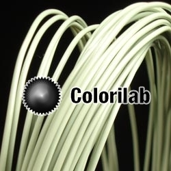 ABS 3D printer filament 3.00 mm fruit green 5585C