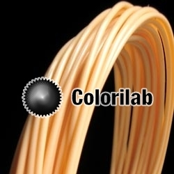 ABS 3D printer filament 1.75 mm close to peach skin 162 C