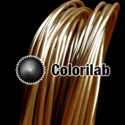 Filament d'imprimante 3D 1.75 mm PLA brun 1405C