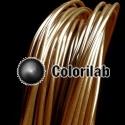 Filament d'imprimante 3D 1.75 mm PLA brun 1405C
