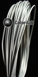Filament d'imprimante 3D 1.75 mm PLA gris pâle Cool Gray 8C