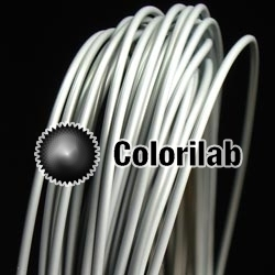 Filament d'imprimante 3D 3.00 mm PLA gris pâle Cool Gray 8C