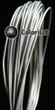 Filament d'imprimante 3D 3.00 mm PLA gris pâle Cool Gray 8C