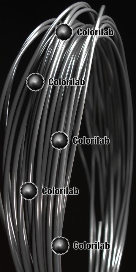 ABS 3D printer filament 1.75 mm grey Cool Gray 11C