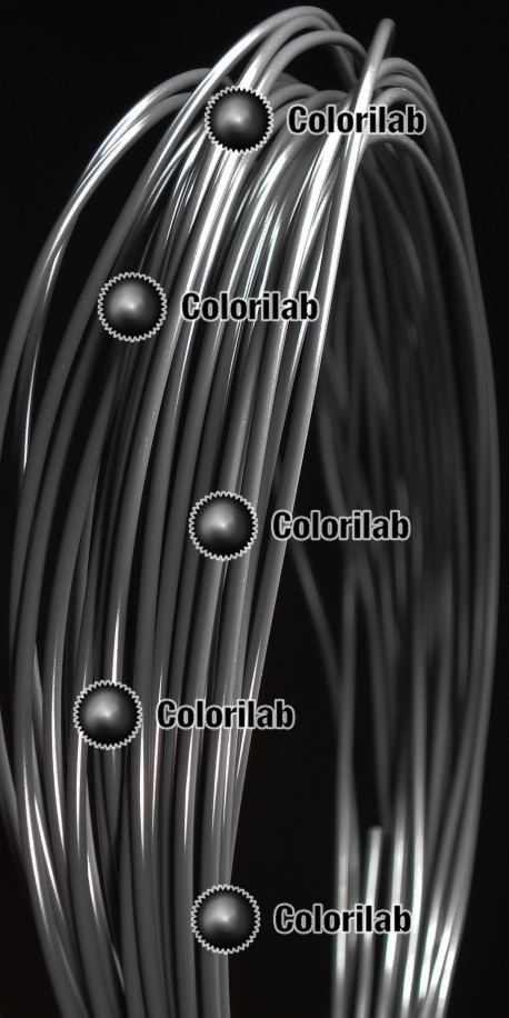 Filament d'imprimante 3D 1.75 mm ABS gris Cool Gray 11C