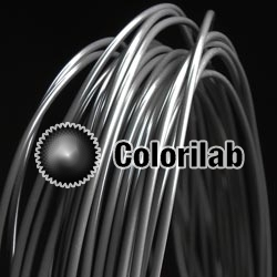Filament d'imprimante 3D 3.00 mm PLA gris Cool Gray 11C