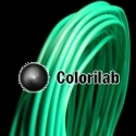 ABS 3D printer filament 1.75 mm turquoise 3258C