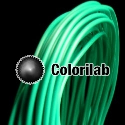 PLA 3D printer filament 3.00 mm close to turquoise 3258 C