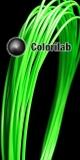 Filament d'imprimante 3D 1.75 mm ABS vert fluo 802C