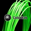 PLA 3D printer filament 3.00 mm fluo green 802C