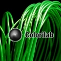 Filament d'imprimante 3D 3.00 mm PLA vert foncé 347C