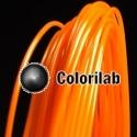 Filament d'imprimante 3D 1.75 mm PLA orange fluo 1495C