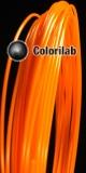 ABS 3D printer filament 1.75 mm fluo orange 1495C