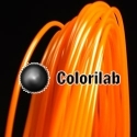 Filament d'imprimante 3D 3.00 mm PLA orange fluo 1495C