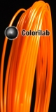 PLA 3D printer filament 3.00 mm fluo orange 1495 C