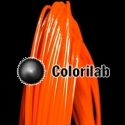 ABS 3D printer filament 1.75 mm orange 021C