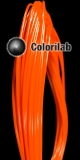 PLA 3D printer filament 3.00 mm orange 021 C