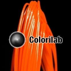 ABS 3D printer filament 3.00 mm orange 021C