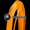 PLA 3D printer filament 1.75 mm translucent orange Bright Orange C