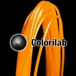 ABS 3D printer filament 3.00 mm translucent orange Bright Orange C