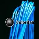 PLA 3D printer filament 1.75 mm azure blue 299C