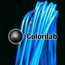 ABS 3D printer filament 1.75 mm azure blue 299C