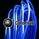 PLA 3D printer filament 1.75 mm blue 2144C