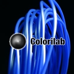Filament d'imprimante 3D 1.75 mm PLA bleu 2144C