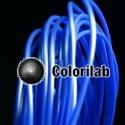 Filament d'imprimante 3D 1.75 mm PLA bleu 2144C