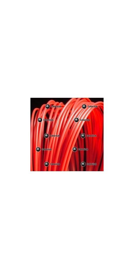 PLA 3D printer filament 1.75 mm red 032C